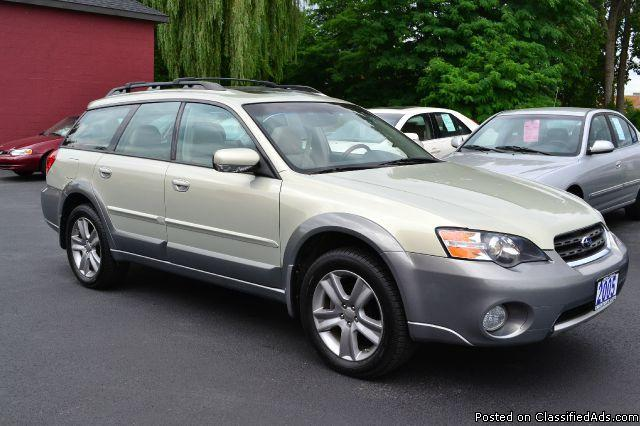 Ll Bean Subaru >> 2005 Subaru Outback 3.0R 'LL. Bean' Edition LOADED 1 OWNER CLEAN CAR FAX for Sale in Albany, New ...