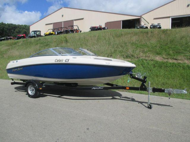 2005 Sugar Sand Calais GS w/Mercury 240hp Sport-Jet w/only 111 hours!
