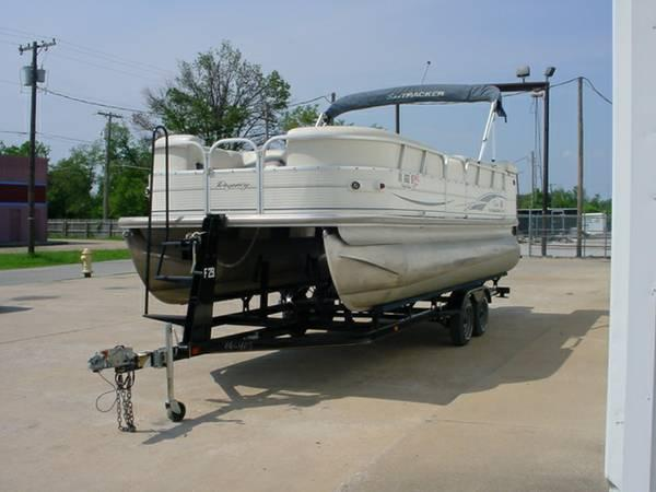 2005 SUN TRACKER PARTY BARGE 22 W 90 For Sale In Tulsa