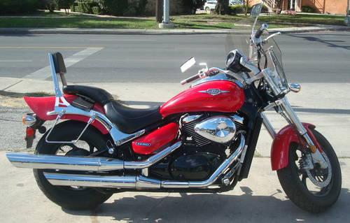2005 Suzuki M50 Boulevard 819cc Red For Sale In Balcones Heights Texas Classified