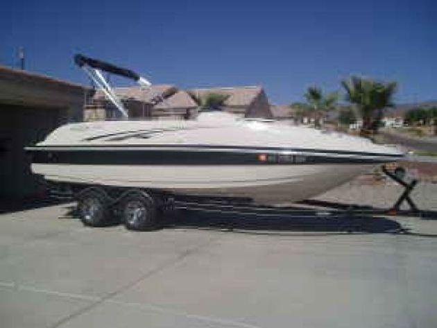 2005 tahoe 222 deck boat for sale in show low  arizona