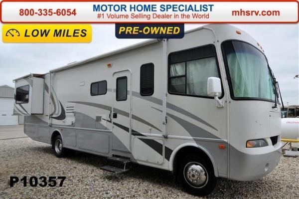 2005 thor motor coach hurricane 32r w 2 slides for sale in for Motor home specialist inc alvarado texas