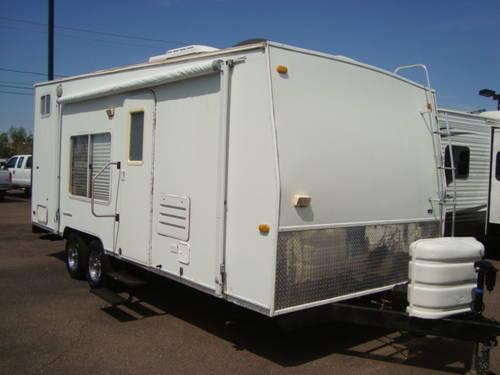 2005 Thor Transporter 21 Wtb Toy Hauler Ready To Go For Sale In Mesa Arizona Classified