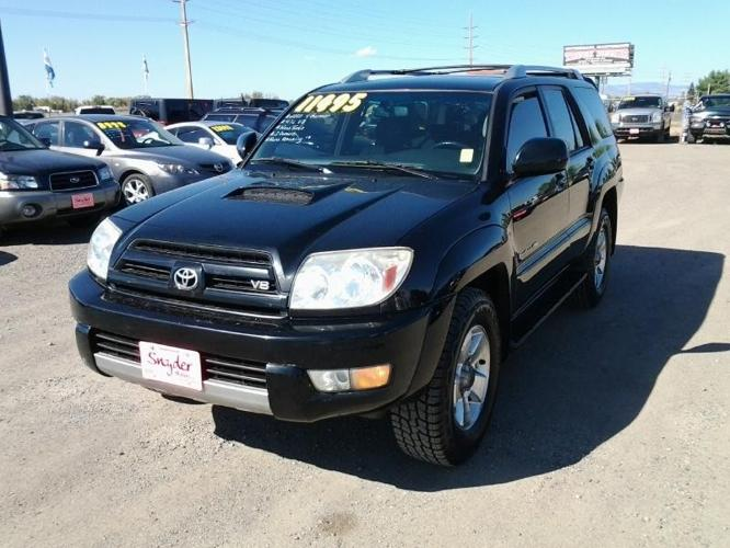 2005 toyota 4runner 4 7l v8 new tires 2 owners runs great for sale in belgrade montana. Black Bedroom Furniture Sets. Home Design Ideas