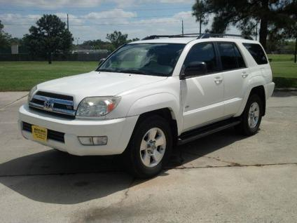 2005 toyota 4runner sr5 v8 2wd suv 3rd row seats warranty autocheck for sale in houston. Black Bedroom Furniture Sets. Home Design Ideas