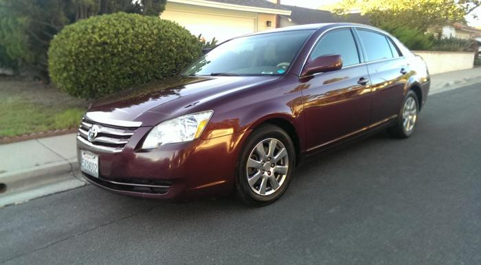 2005 toyota avalon for sale in san diego california classified. Black Bedroom Furniture Sets. Home Design Ideas