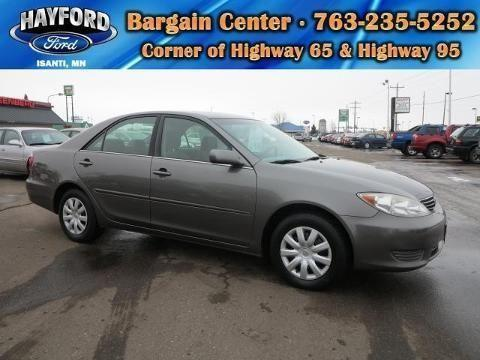 2005 toyota camry 4 door sedan for sale in isanti. Black Bedroom Furniture Sets. Home Design Ideas