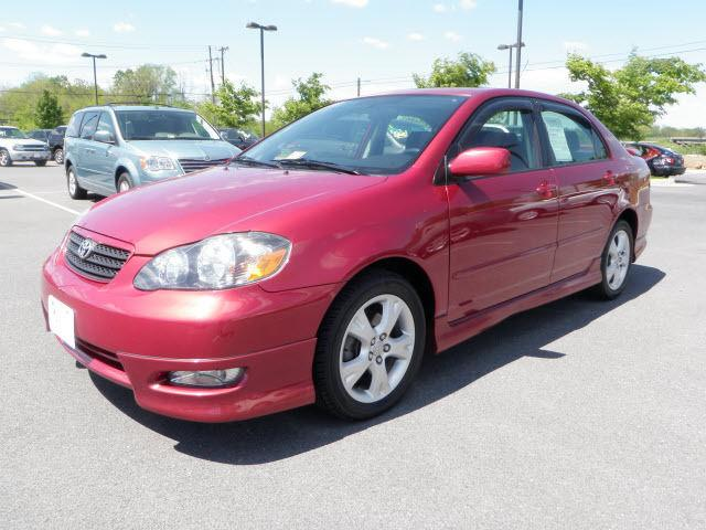 2005 toyota corolla xrs for sale in winchester virginia classified. Black Bedroom Furniture Sets. Home Design Ideas