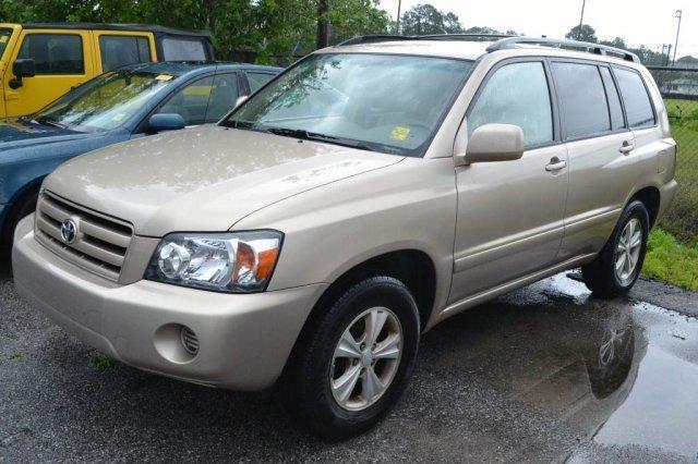 2005 Toyota Highlander Base Fwd 4dr SUV