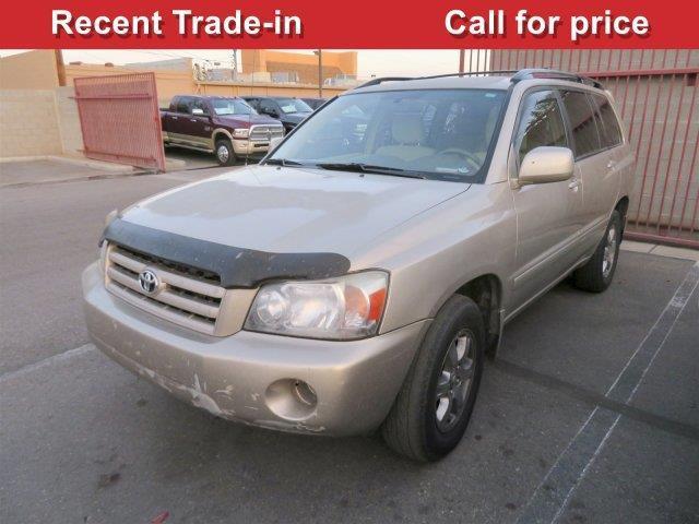 2005 Toyota Highlander Base Fwd 4dr SUV V6 For Sale In Tucson Arizona Classi
