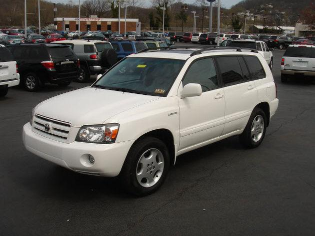 2005 toyota highlander limited for sale in accoville west virginia classified. Black Bedroom Furniture Sets. Home Design Ideas