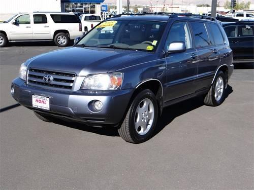 2005 toyota highlander suv 4dr v6 4wd limited w 3rd row for sale in carson city nevada. Black Bedroom Furniture Sets. Home Design Ideas