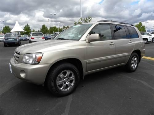 2005 toyota highlander suv 4dr v6 4wd w 3rd row for sale in boise idaho classified. Black Bedroom Furniture Sets. Home Design Ideas