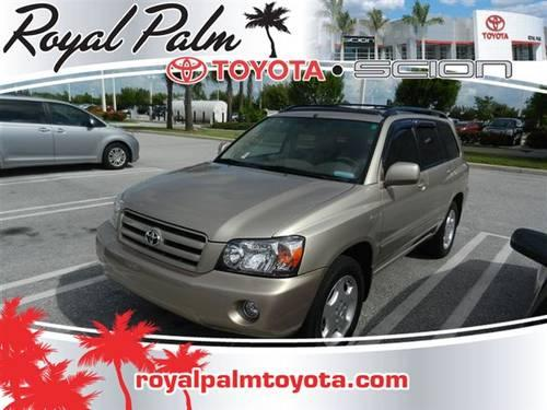 Royal Palm Beach Toyota >> 2005 Toyota Highlander SUV 4dr V6 SUV for Sale in West Palm Beach, Florida Classified ...