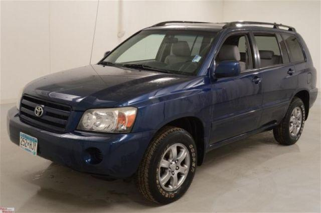 2005 toyota highlander v6 for sale in buffalo minnesota classified. Black Bedroom Furniture Sets. Home Design Ideas