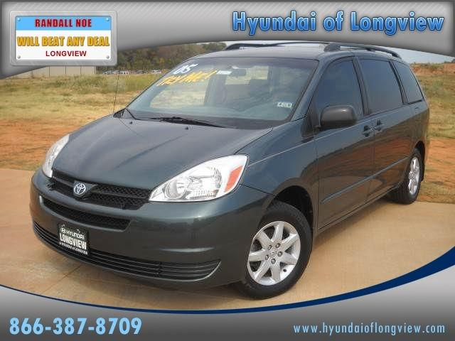 2005 toyota sienna le for sale in longview texas classified. Black Bedroom Furniture Sets. Home Design Ideas