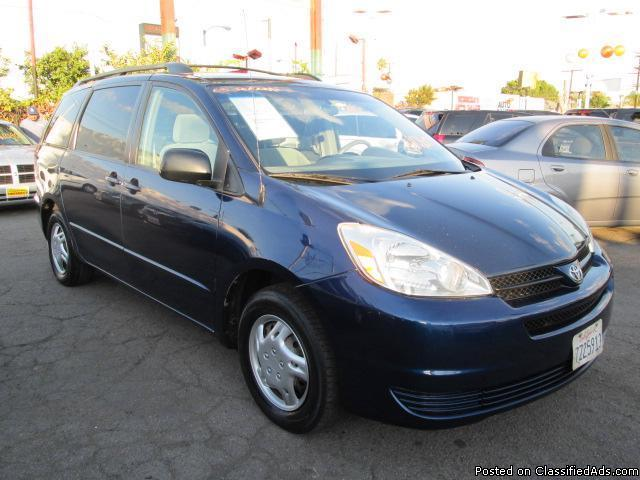 2005 toyota sienna le for sale in los angeles california classified. Black Bedroom Furniture Sets. Home Design Ideas