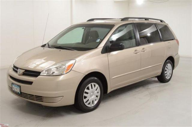 2005 toyota sienna le for sale in buffalo minnesota classified. Black Bedroom Furniture Sets. Home Design Ideas