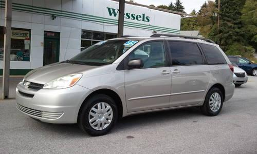 2005 toyota sienna mini van passenger le for sale in bermudian pennsylvania classified. Black Bedroom Furniture Sets. Home Design Ideas