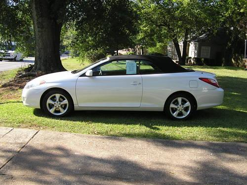 2005 toyota solara sle convertible pearl white 91 000. Black Bedroom Furniture Sets. Home Design Ideas