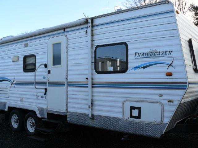 2005 Trailblazer 25bs Bunk Travel Trailer By Komfort For