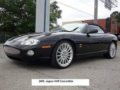 2005 Triple Black Convertible Jaguar Xkr For Sale In