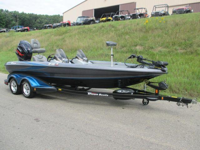 2005 Triton Tr Yamaha 225hp Vmax Hdpi W  Only 119 Engine Hours  For Sale In Kalamazoo