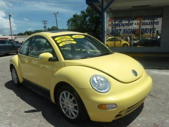 2005 volkswagen beetle gls coupe yellow for sale in cocoa florida classified. Black Bedroom Furniture Sets. Home Design Ideas