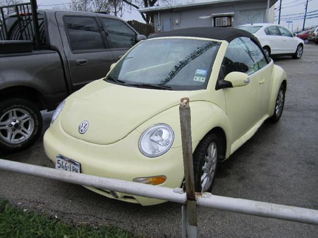 2005 volkswagen new beetle convertible 2dr gls automatic for sale in haltom city texas. Black Bedroom Furniture Sets. Home Design Ideas