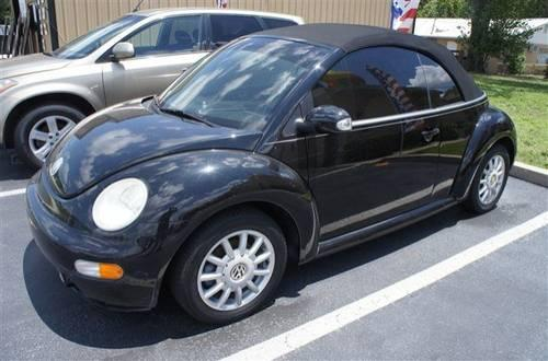 2005 volkswagen new beetle convertible convertible gls for sale in bushnell florida classified. Black Bedroom Furniture Sets. Home Design Ideas
