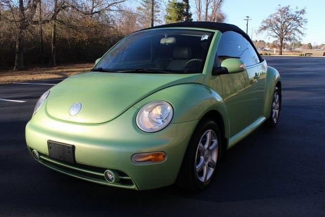 2005 volkswagen new beetle gls 1 8t 2dr gls 1 8t turbo convertible for sale in decatur alabama. Black Bedroom Furniture Sets. Home Design Ideas