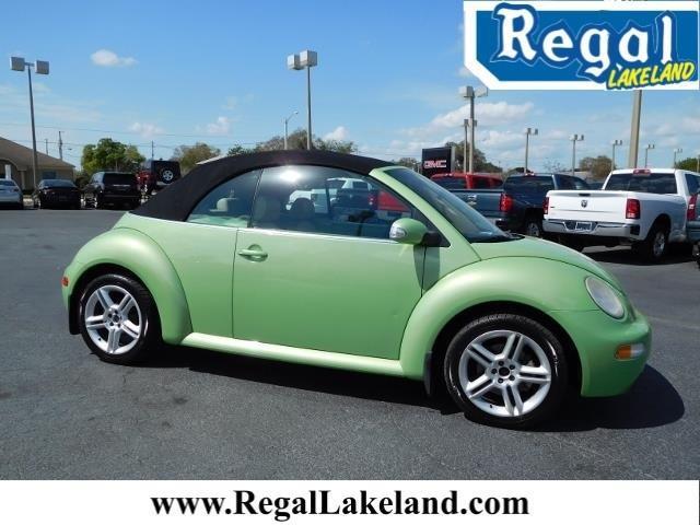 2005 volkswagen new beetle gls 1 8t 2dr gls 1 8t turbo convertible for sale in lakeland florida. Black Bedroom Furniture Sets. Home Design Ideas