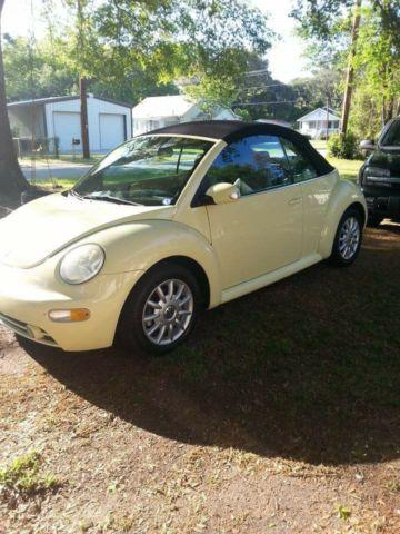 2005 vw new beetle convertible ridgeland sc for sale in coosawatchie south carolina classified. Black Bedroom Furniture Sets. Home Design Ideas
