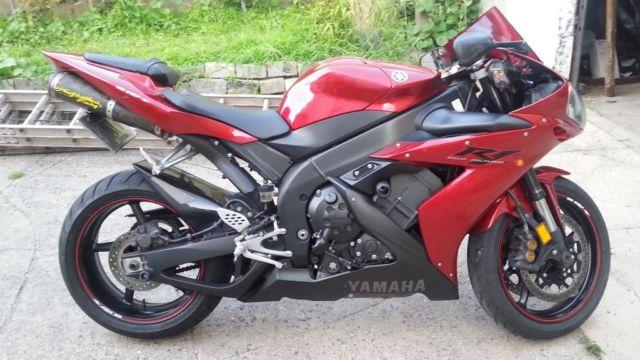2005 yamaha r1 red 6000 miles for sale in flushing new for 2005 yamaha r1 for sale