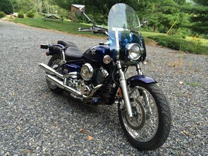 2005 Yamaha V-Star 650 Custom, XVS650