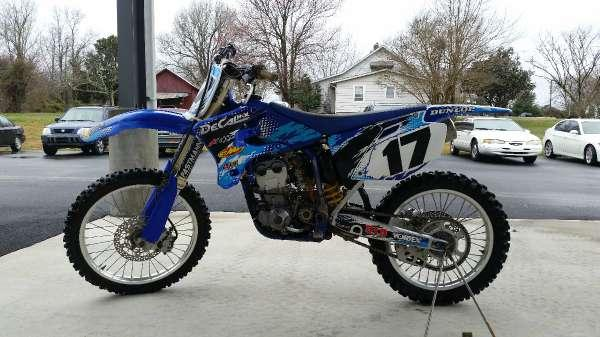 2005 yamaha yz250f for sale in henderson north carolina for 1995 yamaha yz250 for sale
