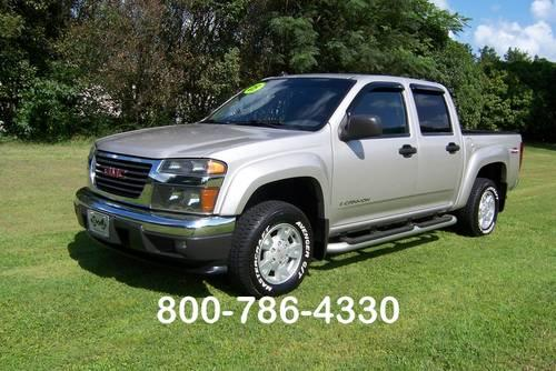 2005 gmc canyon sle crew cab 4wd extra nice new radials for sale in princeville north. Black Bedroom Furniture Sets. Home Design Ideas