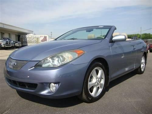 2005 toyota camry solara convertible sle convertible for. Black Bedroom Furniture Sets. Home Design Ideas