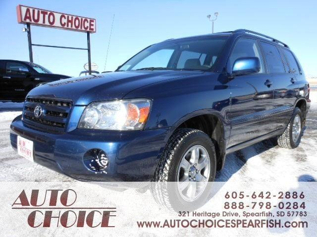 2005 toyota highlander for sale in spearfish south dakota for Spearfish motors spearfish sd