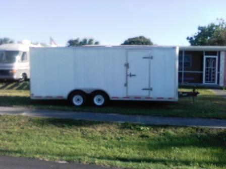 2006 10ftx20ft triumph enclosed trailer for sale for sale in port charlotte florida classified. Black Bedroom Furniture Sets. Home Design Ideas