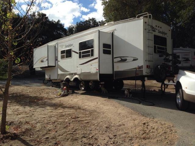 2006 31 5 Xlt Sandpiper Fifth Wheel By Forest River For