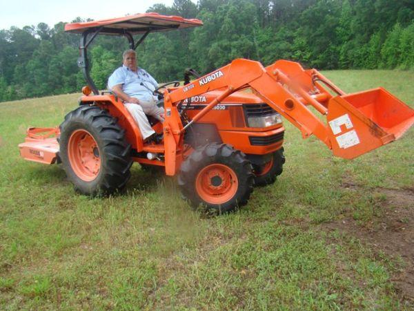 Uses Of Four Wheel Tractor : Wheel drive kubota tractor mx d macon