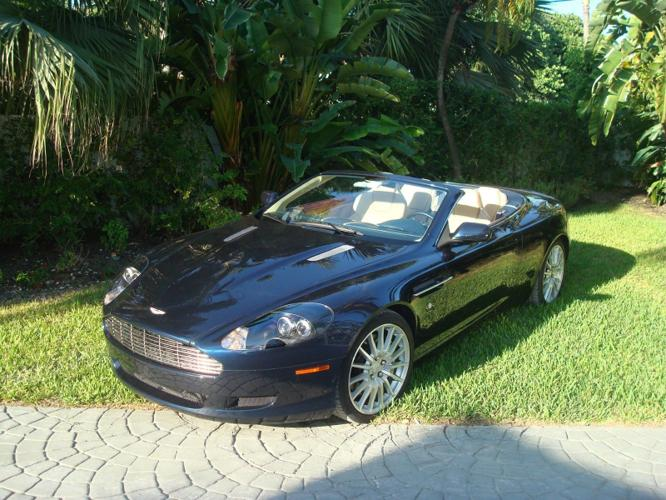 2006 Aston Martin DB9 MANUAL TRANSMISSION 2006 VOLANTE