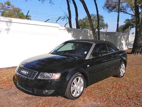2006 Audi A4 Convertible 2dr Cabriolet 18t Cvt For Sale In