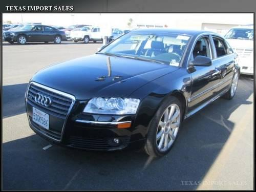 2006 audi a8 l sedan 6 0l w12 lwb for sale in dallas texas classified. Black Bedroom Furniture Sets. Home Design Ideas