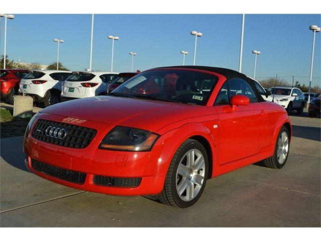 2006 Audi TT Coupe 2DR ROADSTER QUATTRO MANUAL for Sale in ...