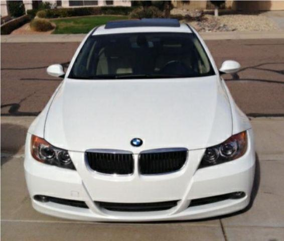 2006 bmw 325i alpine white beige leather 73k miles sport. Black Bedroom Furniture Sets. Home Design Ideas