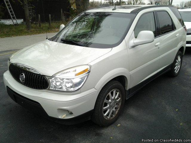 2006 buick rendezvous cxl for sale in bass lake indiana classified america. Cars Review. Best American Auto & Cars Review