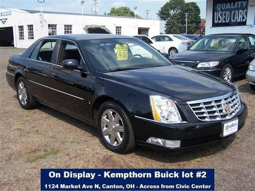 2006 cadillac dts 4 door sedan for sale in canton ohio classified. Black Bedroom Furniture Sets. Home Design Ideas