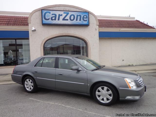 2006 cadillac dts dts with onstar and bluetooth for sale. Black Bedroom Furniture Sets. Home Design Ideas
